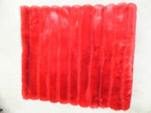"""FOR SALE 1 New Red quilted blanket 60""""x50"""" - $25.00. Call 306-35"""