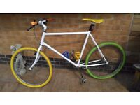Commuter Push Bike Cycle custom paint and parts