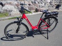 NEW Gepida Reptila 1000 Electric Bike with Shimano Steps Mid -Drive. Red