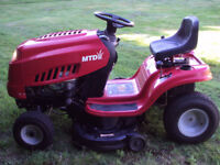 MTD ride on mower - lawnmower. Local delivery available