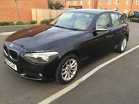 2012 BMW 116d EfficientDynamics Black 5 door 55+ mpg