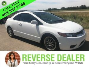 2008 Honda Civic Coupe EX  EX Model! Sunroof, 2 Sets of Tires  R