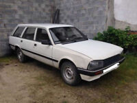 Peugeot 505 2.5 diesel engine and gearbox.