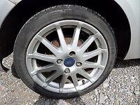 Mk6 fiesta zetec s alloy wheel