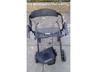 Gemini 30 rollater 4 wheeled walker as new,hardly used. 140 pounds
