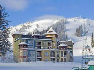 Fully furnished, slope-side, corner unit in the Snowbird Lodge