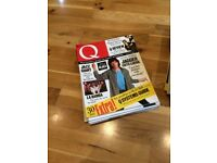 Q Magazine Collection - dating back to 1987 (31 issues)