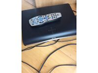Sky+ HD box with leads and remote x 2