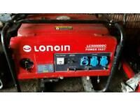 Petrol Generator 4.5 Kw.Loncin LC-5000DC