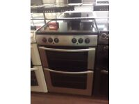 Silver Belling Reconditioned 60cm Electric Cooker, Birmingham