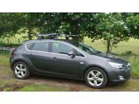 Vauxhall Astra 2.0 CDTi 16v SRi, 2011. 74k miles. Grey, 5 door hatchback