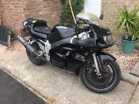 Suzuki GSXR 600 gixxer SRAD engine rebuilt MOT APRIL 18