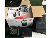 Canon Speedlight 600 EX-RT NEW UNUSED