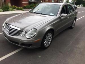 2007 MERCEDES-BENZ E-280 AWD 4MATIC * bas millage*  514-961-9094