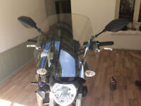 Yamaha MT-07 Madstad Touring and Fly Screens.