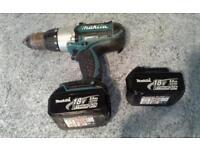 Makita 18 volt drill/ driver