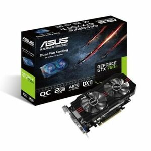 nvidia gtx 750 ti 2GB asus direct cuii OC