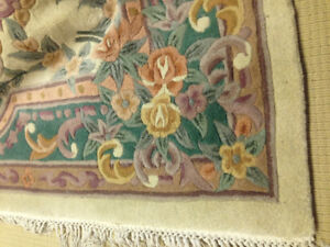 Hand knot large Chinese rug 8x10
