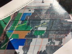 Terre de 168 acres + chalet et terrain avec droit de construire