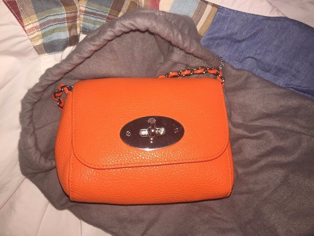 afea7ddcbc ... free shipping mulberry lily orange bag brand new 27f99 9b612
