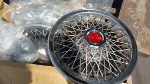 "Pontiac 15"" wheel covers set of 5"