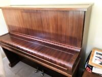 BOYD-LONDON PIANO. over strung, under damper, tuned to concert pitch.