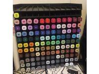 12 Spectrum Noir Pen Storage Trays