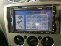 Double din touch screen car stereo Bluetooth