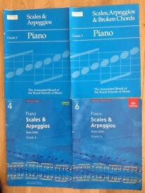 Learning piano music books