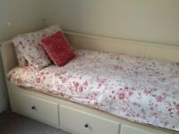 IKEA HEMNES Day bed (double bed) + mattresses