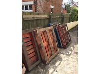 7 Wood Pallets