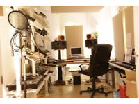 SW19 sound treated studios for music, video and audio producers in creative business community!