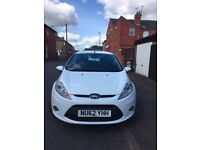 62 PLATE *FORD FIESTA* BLACK ALLOYS