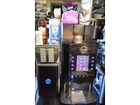 Commercial FULLY AUTOMATIC Coffee machine CARIMALI ARMONIA TOUCH LM+Milk Fridge