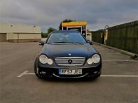 Mercedes C220 Coupe 2.1 Diesel Evo S Panoramic Roof Low Miles