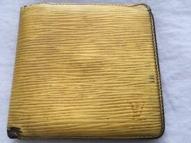 Genuine LV Louis Vuitton Marco wallet EPI leather yellow, rrp €650!!