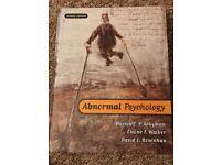 Psychology Textbook - Abnormal Psychology
