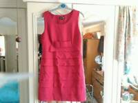 Red\pink dress. Suze 12\14