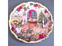 royal albert christmas magic plate