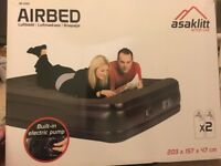 Used inflatable mattress