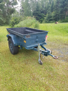 Military M101 CDN2 1/4 Ton Jeep Off Road Trailer for sale