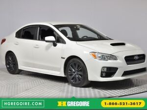2017 Subaru WRX 4dr Sdn Man BLUETOOTH AC CRUISE SIEGES CHAUFFANT