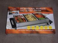 PROLECTRIX PROFESSIONAL HOTPLATE AND BUFFET SERVER