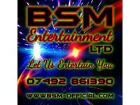Choose BSM Entertainment Ltd For Your Disco, Let Us Entertain You!!!