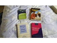 Four books on studying religion