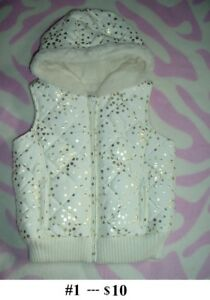 4T Girl's --- Paded Vest Lot --- Brand NEW with Tag