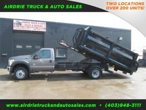 2011 Ford F-550 DRW XLT 3 Bin Truck Power Tommy Tailgate DSL 4x4