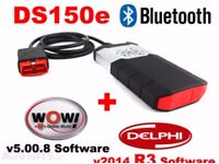 2014.R3 DS150 Bluetooth PRO CDP Car TCS Diagnostic Scanner airbag check light obd2 OBD2 Interface