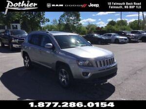 2017 Jeep Compass Sport 4x4   LEATHER   REAR CAMERA   SUNROOF  