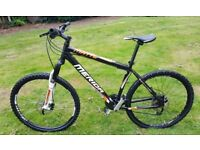 FOR SALE MERIDA MATTS MOUNTAIN BIKE - 18 INCHES FRAME - 165 POUNDS